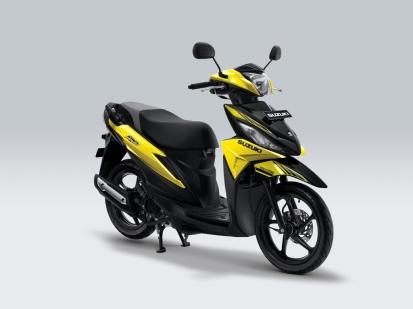 Suzuki Address Playful Auta Yellow