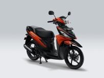 Suzuki Address Playful Luminous Orange