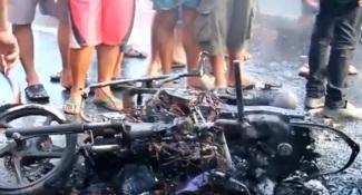 Kecelakaan Beruntun Cirebon-1