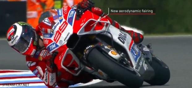 Fairing baru Ducati Lorenzo MotoGP Brno