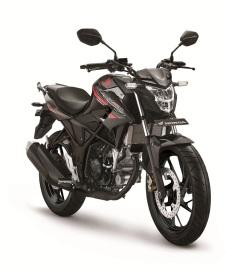Honda-CB150-Standart-Edition Macho Black