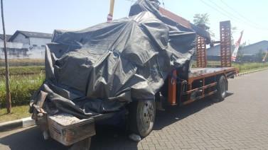 Kecelakaan karangploso truk rem blong1