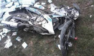 Kecelakaan Nagreg Truk Muatan Garam Satria FU (3)