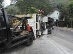 Kecelakaan Nagreg Truk Muatan Garam Satria FU (6)