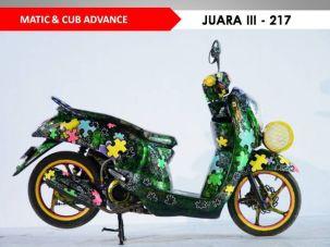 Motor-Motor Jawara Honda Modif Contest Cirebon 2017 (10)
