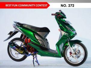 Motor-Motor Jawara Honda Modif Contest Cirebon 2017