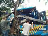 Kecelakaan Bus Doa Ibu Ciamis