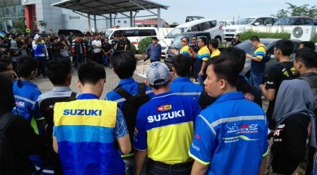 Suzuki Bike Meet Batam - briefing city touring