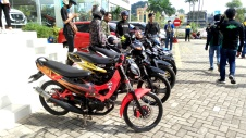 Suzuki Bike Meet Batam - klub motor Suzuki 2 tak