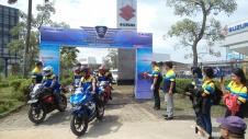 Suzuki Bike Meet Batam - start city touring 1