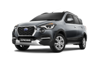 Datsun go cross grey