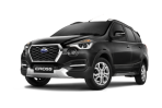 Datsun go cross hitam