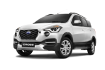 Datsun go cross putih