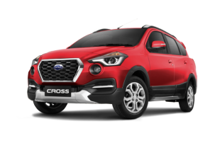 Datsun go cross ruby (merah)