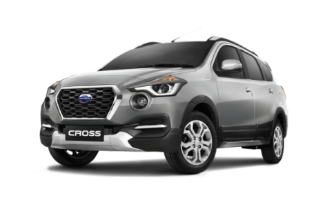 Datsun go cross silver