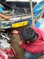 kecelakaan tabrakan beruntun tulungagung 1 januari 2018