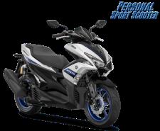 Yamaha Aerox 155 VVA-R Warna baru 2018 putih