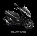 Honda PCX 150 2018 Brilian Black hitam