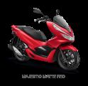 Honda PCX 150 2018 Majestic Matte Red merah