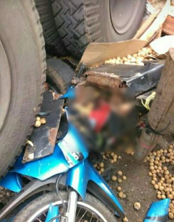 Kecelakaan Kamasan Banjaran 15 Maret 2018 dump truk karambol (10)