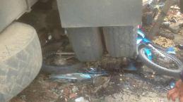 Kecelakaan Kamasan Banjaran 15 Maret 2018 dump truk karambol