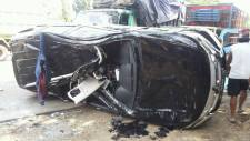 kecelakaan tabrakan beruntun sukamandi 28 Maret 2018-