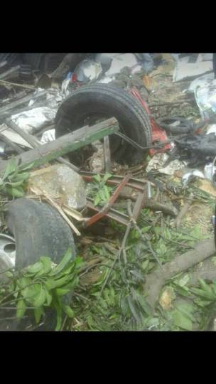 Kecelakaan Truk Karambol Brebes Paguyangan 20 Maret 2018 (3)