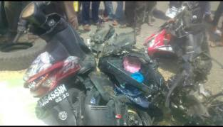 Kecelakaan Truk Karambol Brebes Paguyangan 20 Maret 2018 (4)