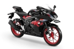 GSX-R150 Keyless Ignition - Titan Black-Rouge Red CW