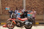 Wheel Story season 5 mario iroth lilis handayani afrika crf250rally sudan