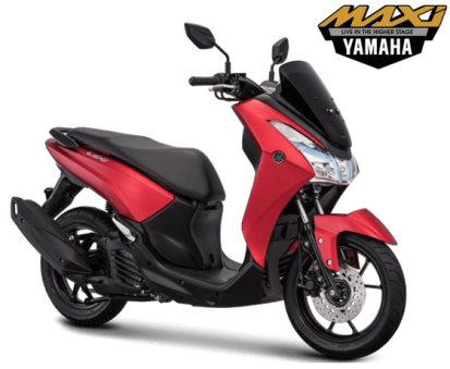 Yamaha Lexi Matte red