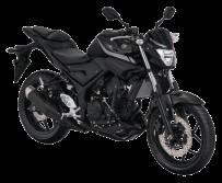Yamaha MT 25 Warna Black Metallic2018