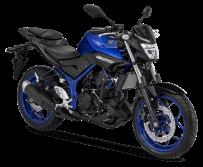 Yamaha MT 25 Warna Blue Metallic 2018