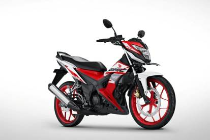 Warna Sonic Racing red 150R 2018
