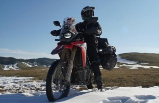 Mario Iroth Lilis Handayani, Wheel Story Honda CRF250 Rally 2018 Trans Siberia (2)