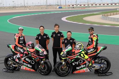 Livery Aprilia Racing team Gresini 2019