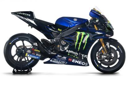 Livery Tim Yamaha MotoGP 2019