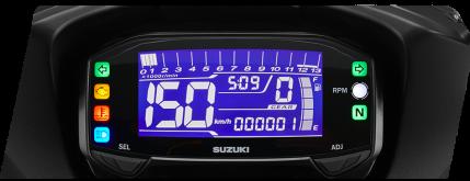 Fitur 1 - New LCD Speedometer Backlight