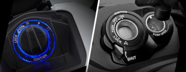 Fitur - 3 Lamp Ring & Shutter Key