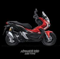 ADVANCE RED ABS TYPE HONDA ADV150