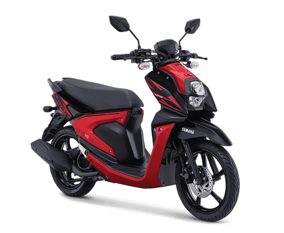 Attractive Red Yamaha X Ride 125 2019