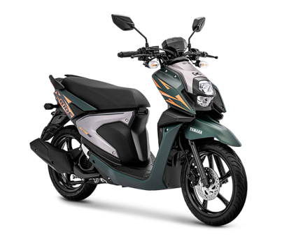 Extreme Green Yamaha X Ride 125 2019