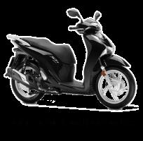 Poseidon Black Metallic Honda SH150i