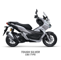 TOUGH SILVER CBS TYPE HONDA ADV150