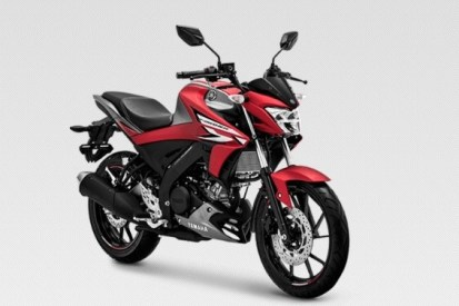 All New Vixion R Matte red 2019
