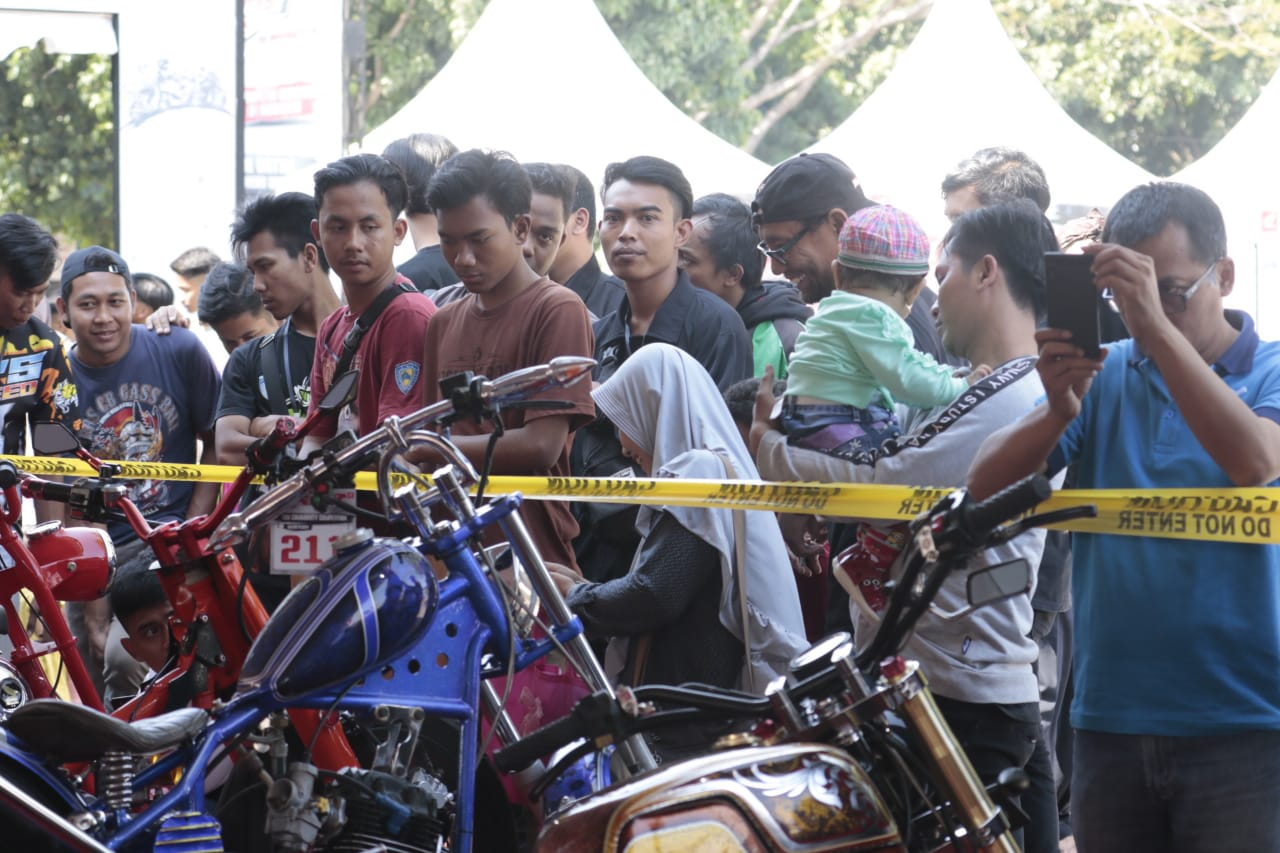 Ratusan Modifikator Ikuti Gelaran Honda Modif Contest 2019 Wilayah Cirebon Menyusurijalan Com