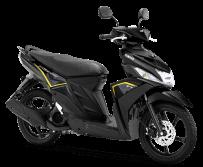 Yamaha Mio M3 Metallic black